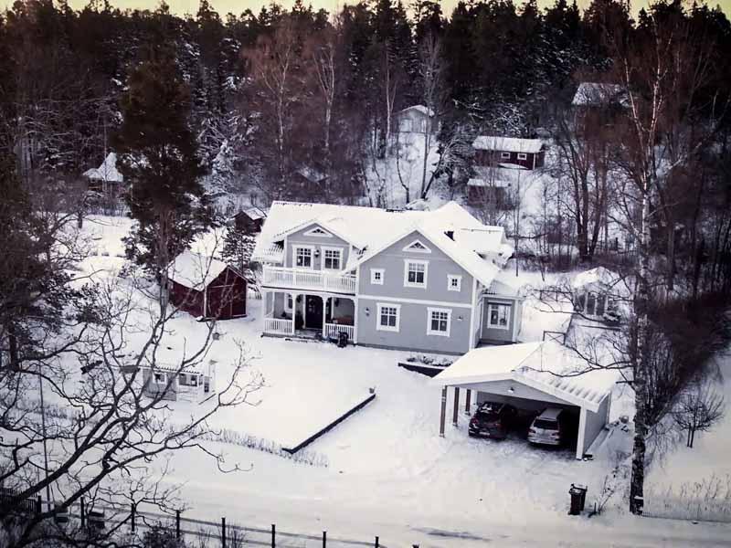 Årets hus 2017 är Kaptensgården från Eksjöhus